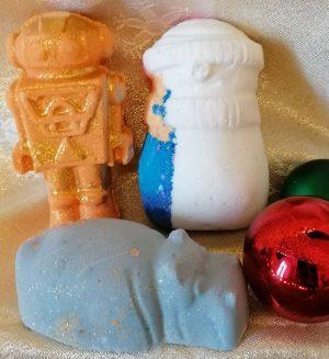 Lush The Art Of Christmas Bathing Bath Bombs