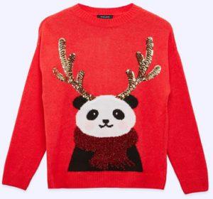 New Look Panda Jumper