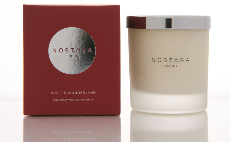 Nostora Winter Wonderland Candle