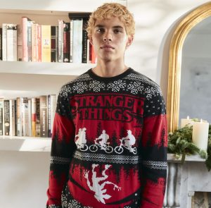 Primark Stranger Things Mens Christmas Jumper
