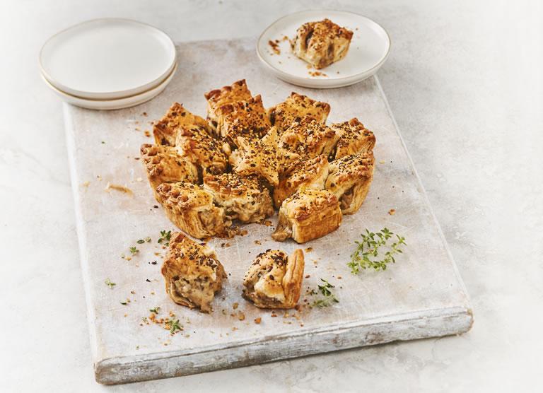 Sainsburys Mushroom Brie