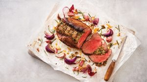 Sainsburys Topside Beef With Shallots