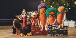 Aldi Christmas 2020 Plush Toy collection