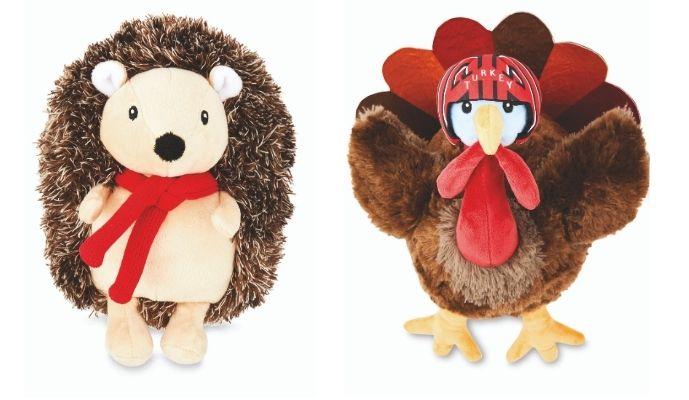 Aldi Harry the Hedgehog and Lieutenant Turkey