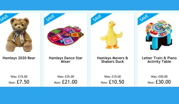 Hamleys Black Friday Toy Offers