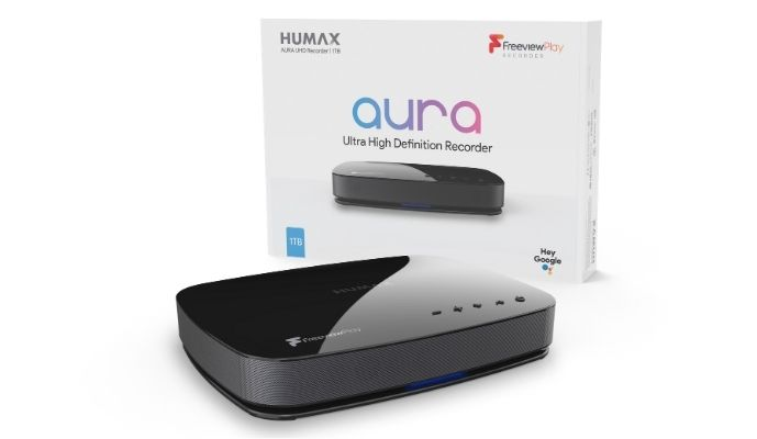 Humax Aura Android TV Freeview Play Recorder 1tb
