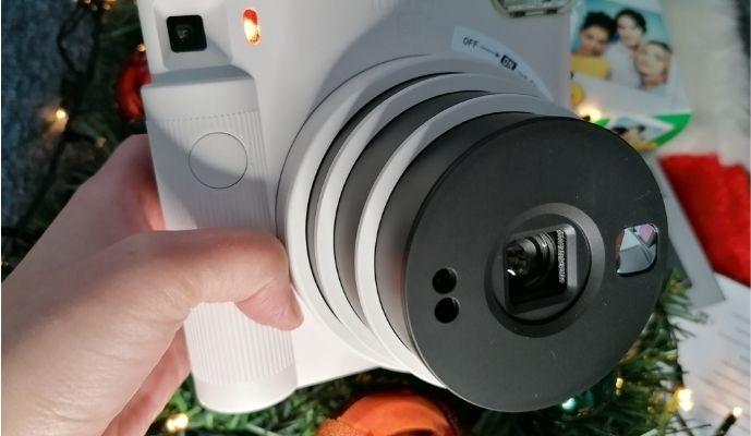 Instax Instant Camera - Chalk White