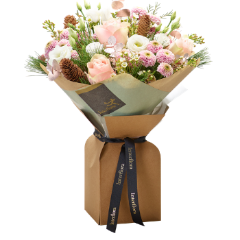 Interflora Winter hand-tied bouquet made with the finest flowers