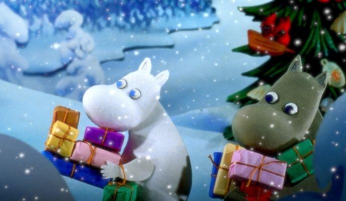 Sky Christmas 2020 - Moomins and the Winter Wonderland