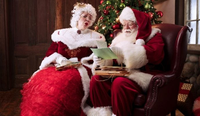 Santa The Experience Mr and Mrs Claus