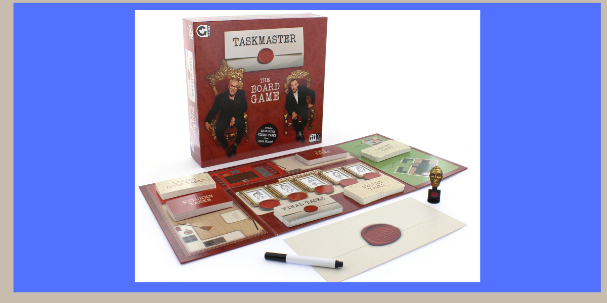 Ginger Fox Taskmaster The Board Game