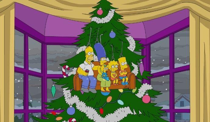 Sky Christmas 2020 - The Simpsons Christmas Special