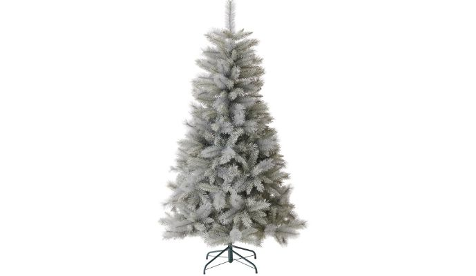 Wilko 6ft Twilight grey spruce artificial Christmas tree