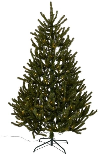 Wilko 6ft unswept pre-lit artificial Christmas tree