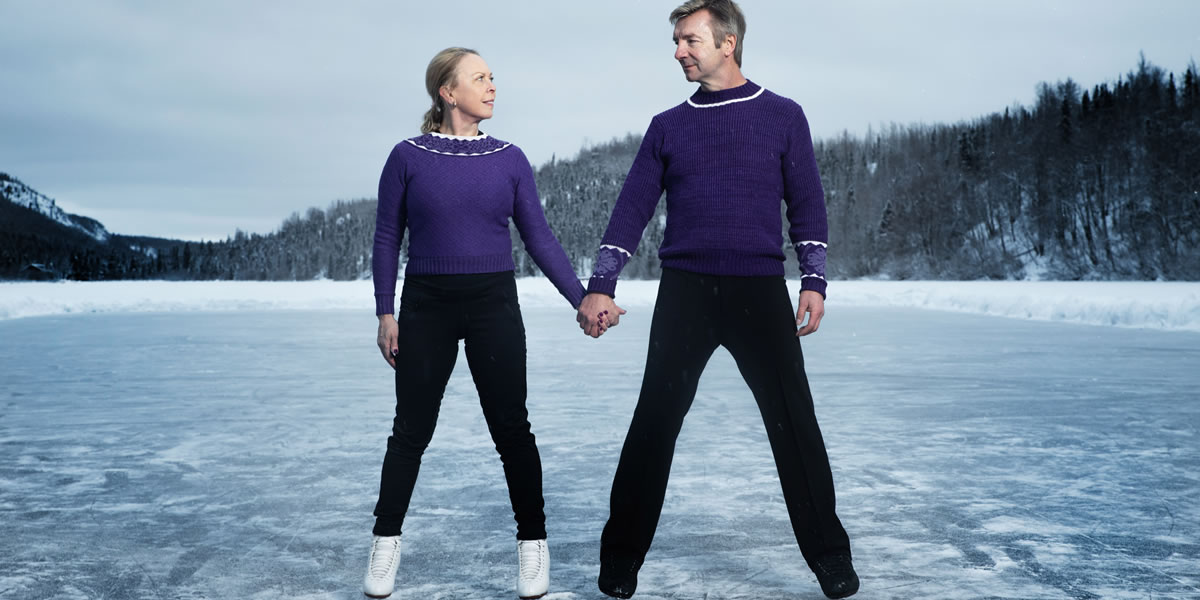Image Of Dancing on Thin Ice with Torvill & Dean