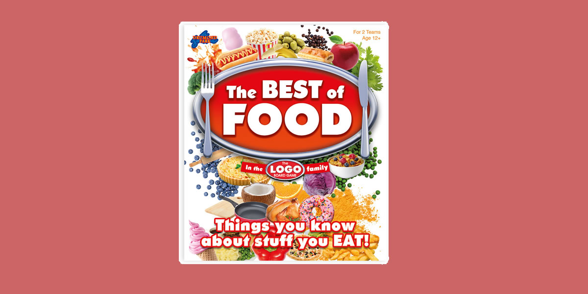 Image Of Logo The Best of Food Board Game