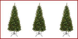 Image Of Homebase 6ft Green Pop Up Pre Lit Christmas Tree