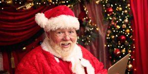 Image Of Santa At Home