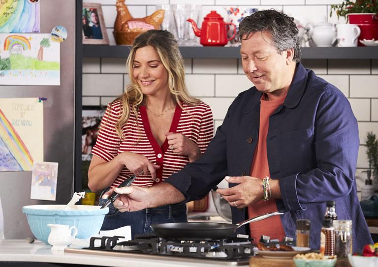 Image Of John & Lisa's Weekend Kitchen