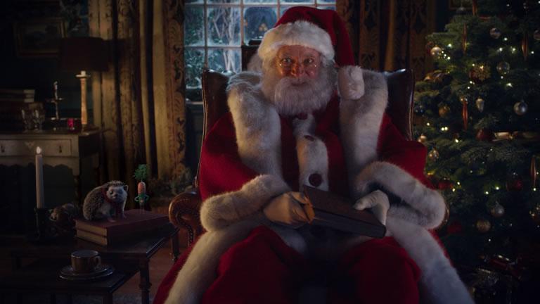 Image Of Aldi Jim Broadbent as Santa