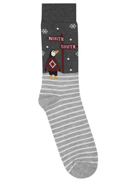 M&Co Penguin Socks
