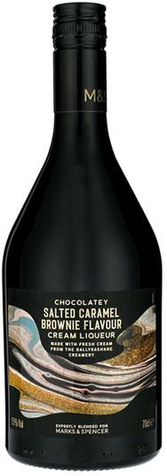 M&S Salted Caramel Brownie Flavour Cream Liqueur