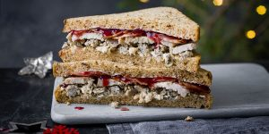 Marks And Spencer turkey feast sandwich