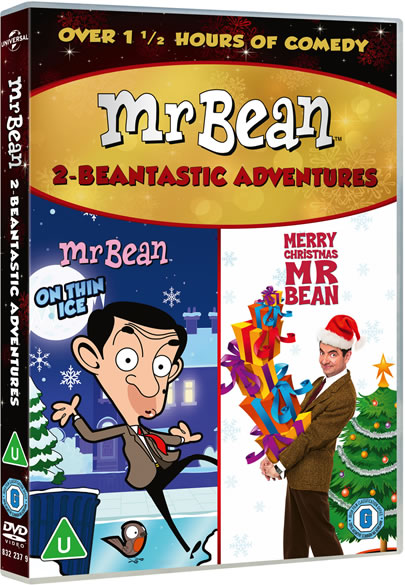 Mr Bean Two-Beantastic Adventures - Mr Bean On Thin Ice & Merry Christmas Mr Bean DVD