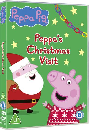 Peppa Pig: Peppa's Christmas Visit DVD