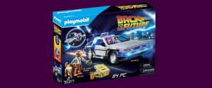 Playmobil Back To The Future Playset