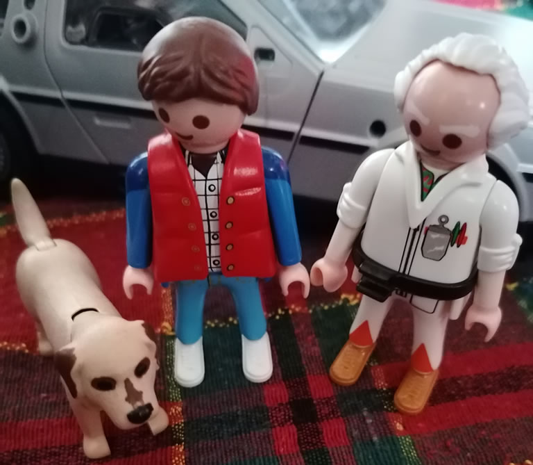 Image of Playmobil Back to the Future characters