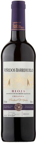 Sainsbury's Vinedos Barrihuelo Rioja Crianza, Taste the Difference 75cl