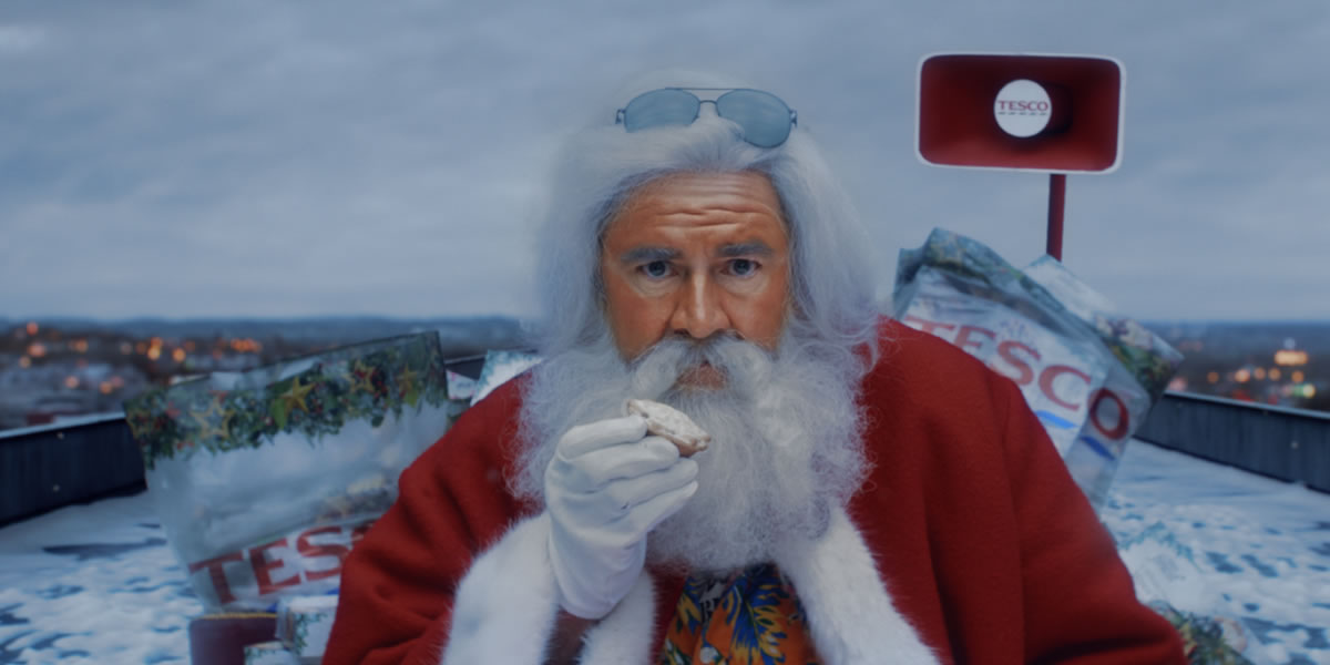 Image Of Tesco 'No Naughty List' Christmas Advert 2020