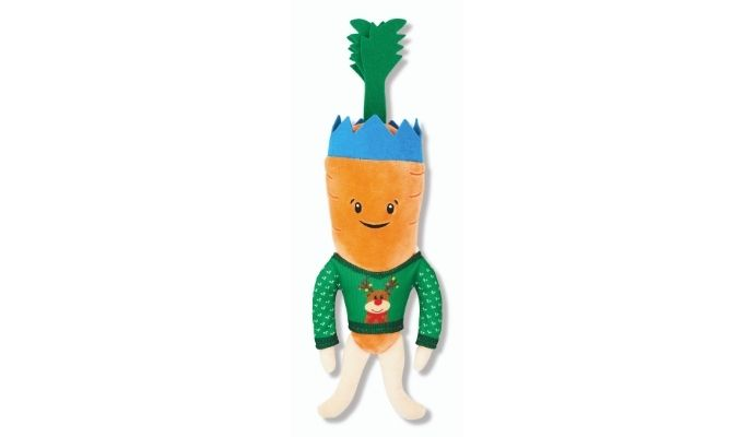 Aldi Kevin the Carrot in Christmas Hat