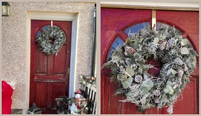 By Bloom Winter's Morning Wreath