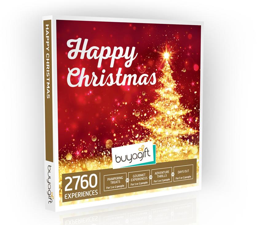Buy A Gift: Happy Christmas Box