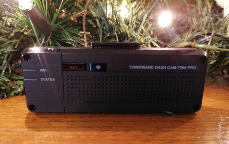 Image Of Back Of Thinkware F200 Pro Dash Cam