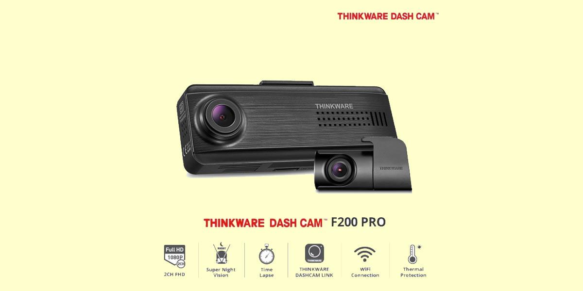 Image Of Thinkware F200 Pro Dashcam