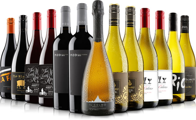 Christmas All Wrapped Up Mixed Wine Case by Virgin Wines