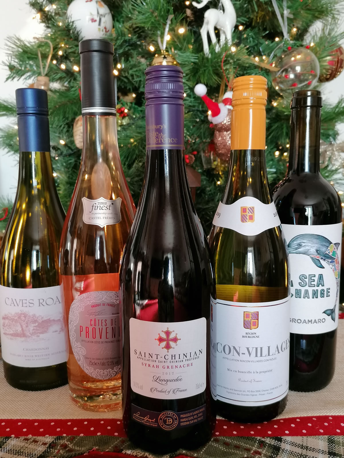 Wines For Christmas