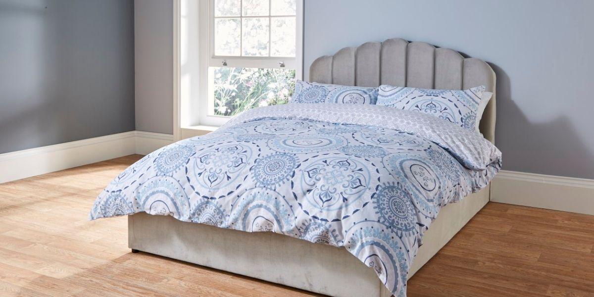 Aldi Scalloped Bed
