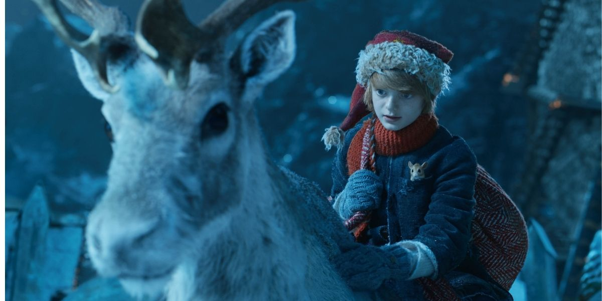 Sky TV Christmas 2021 - A Boy Called Christmas - Nikolas and Blitzen