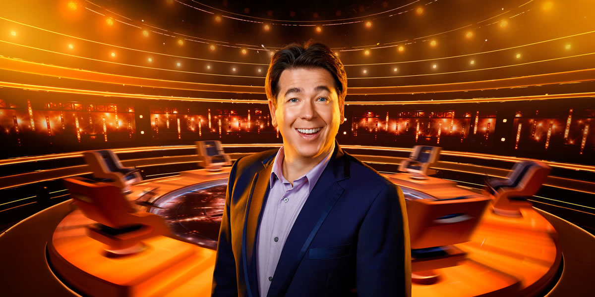 Image of Michael McIntyre from The Wheel
