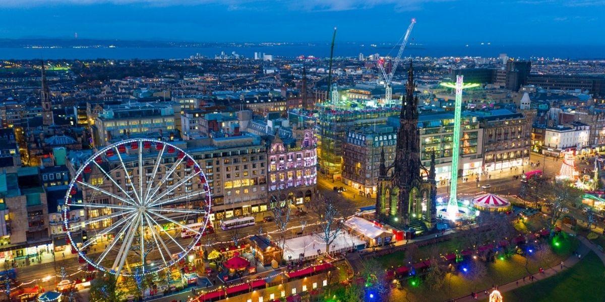 Edinburgh Christmas Market 2019 - Digital Triangle Creative LTD
