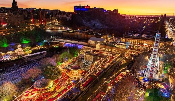 Edinburgh's Christmas 2019 - Credit Ian Georgeson