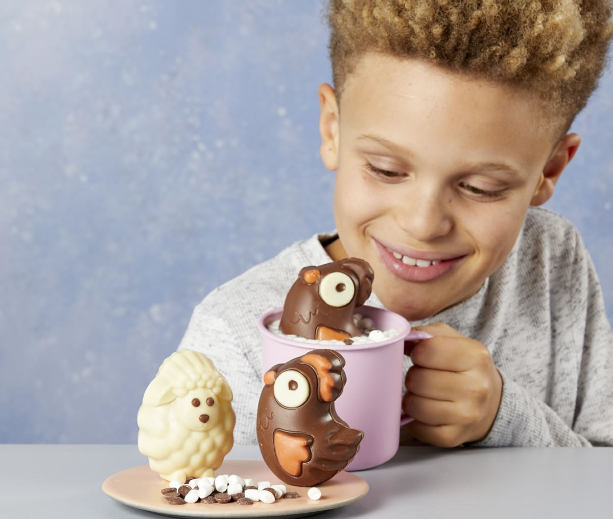 Image of Aldi Easter hot chocolate melts