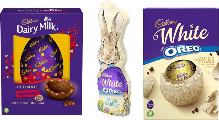 Dairy Milk Cadbury Range Easter 2021