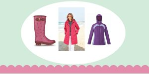 BEST Clothing and Footwear for Spring Showers