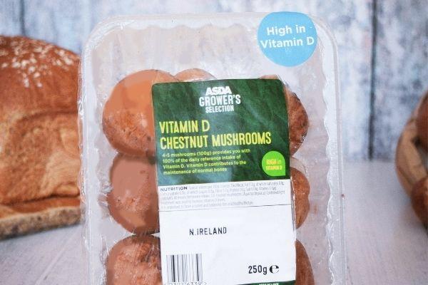 Vitamin D Chestnut Mushrooms