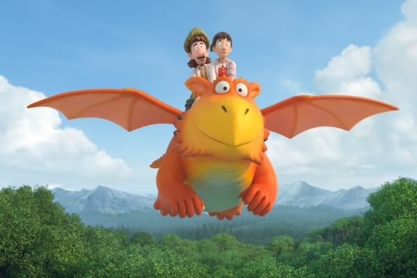 Zog and Princess Pearl and Sir Gadabout